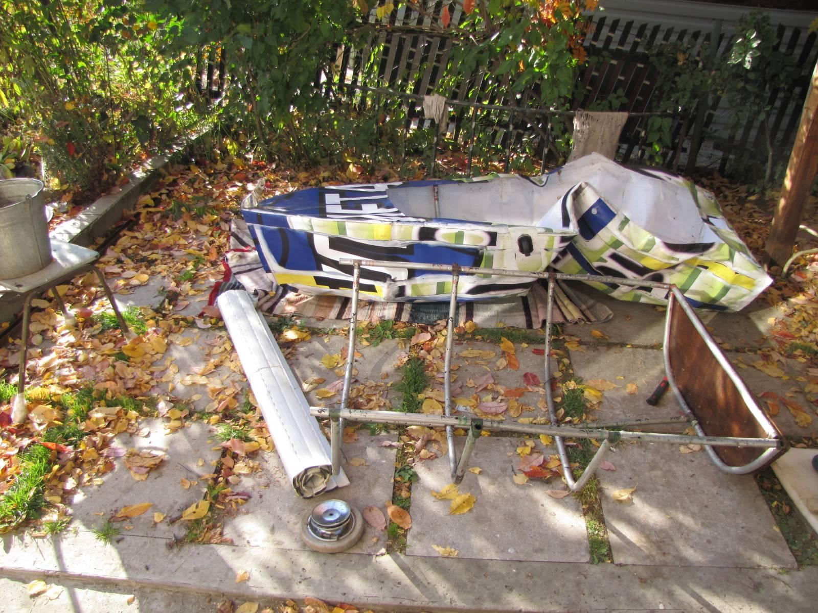 Как сделать лодка из водопроводных труб 147