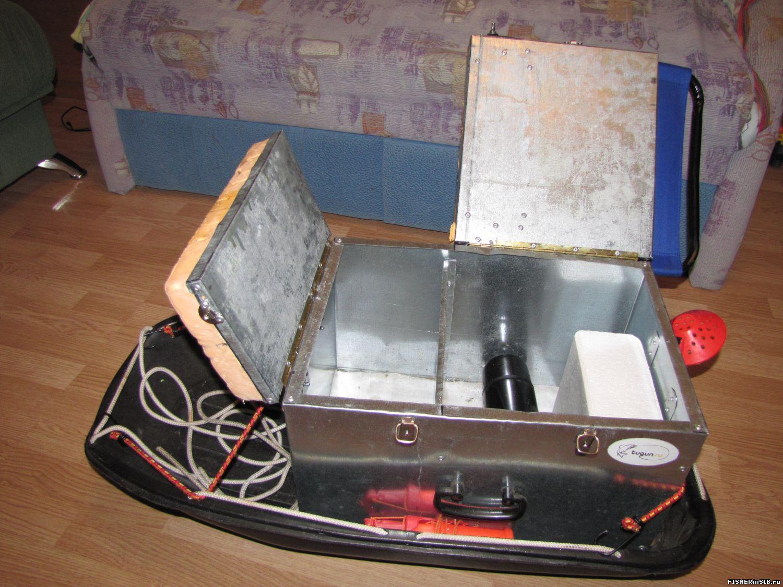 Как сделать рыболовный ящик своими руками 599